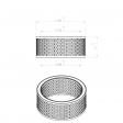 Mattei 30336 alternative air filter