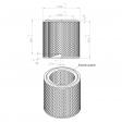 Air-Tec SP120001 alternative air filter