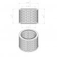 Adicomp 40300011 alternative air filter
