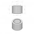 Pneumofore 042.440 alternative air filter