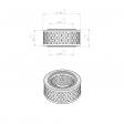 Abac 8011100 alternative air filter