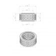 Adicomp 40300014 alternative air filter