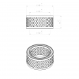 Mahle 5024567 alternative air filter