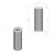 Abac 8973035347 alternative air filter