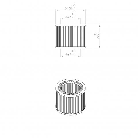 Abac 6211473950 alternative air filter