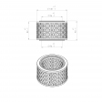 Bottarini 220913 alternative air filter
