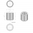 Adicomp 101860500 alternative air filter