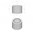Pneumofore 042.442 alternative air filter