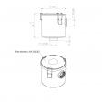 Esam 168564 alternative air filter housing