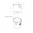 GEV GFN200 alternative air filter housing