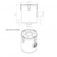Esam 168561 alternative air filter housing