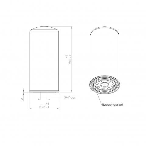 Abac 2236106021 alternative oil filter