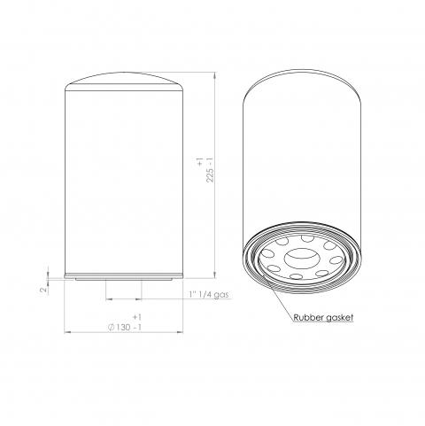 Abac 2236106192 alternative oil filter