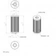 Pneumofore 041.041 alternative oil filter