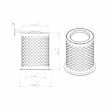 Radaelli 52450079 alternative separator